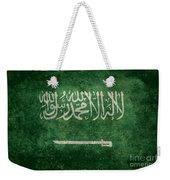 The National Flag Of  Kingdom Of Saudi Arabia  Vintage Version Weekender Tote Bag