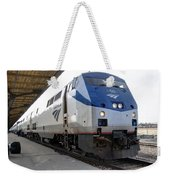 The National Railroad Passenger Corp Amtrak Weekender Tote Bag