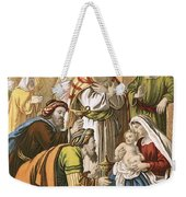 The Nativity Weekender Tote Bag by English School