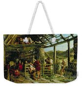 The Nativity Weekender Tote Bag by William Bell Scott