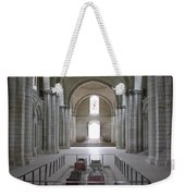 The Nave With Tombs Fontevraud Abbey Weekender Tote Bag