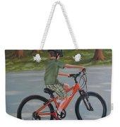 The New Bike Weekender Tote Bag