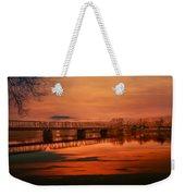 The New Hope Bridge Weekender Tote Bag