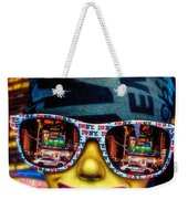 The New York City Tourist Weekender Tote Bag by Chris Lord
