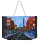 The Next Train Weekender Tote Bag