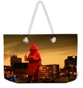 The Night Of The Lobster Man Weekender Tote Bag
