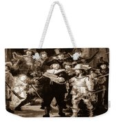 The Night Watch By Rembrandt Weekender Tote Bag