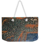 The Non-erring Line Is A Papercut Weekender Tote Bag