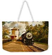 The Noon Train Weekender Tote Bag