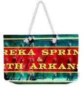 The North Arkansas Line Weekender Tote Bag