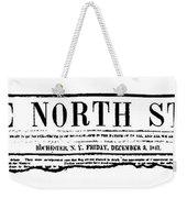 The North Star, 1847 Weekender Tote Bag