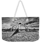 The Observatory Monochrome Weekender Tote Bag