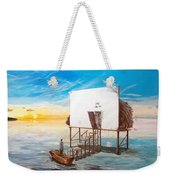 The Occult Listen With Music Of The Description Box Weekender Tote Bag by Lazaro Hurtado
