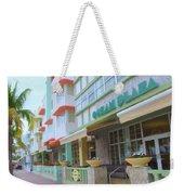 The Ocean Plaza Hotel Weekender Tote Bag