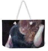 The Offering - Sale On Original Painting - Framed  Weekender Tote Bag