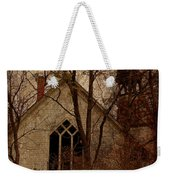 The Old Abandoned Church Weekender Tote Bag