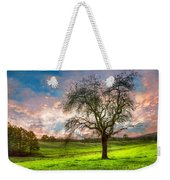 The Old Apple Tree At Dawn Weekender Tote Bag