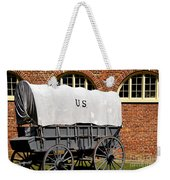 The Old Army Wagon Weekender Tote Bag