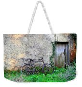 The Old Bike In The Irish Countryside Weekender Tote Bag