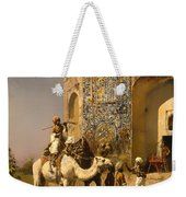 The Old Blue Tiled Mosque - India Weekender Tote Bag