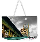 The Old Bridge Hwy 190 Mississippi River Bridge Baton Rouge Weekender Tote Bag