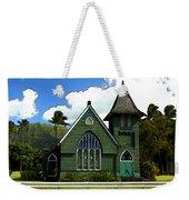 The Old Church In Hanalei Weekender Tote Bag