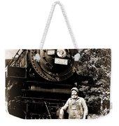 The Old Engineer Weekender Tote Bag
