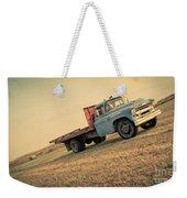 The Old Farm Truck Weekender Tote Bag