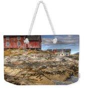 The Old Fisherman's Hut Weekender Tote Bag by Heiko Koehrer-Wagner