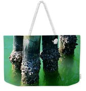 The Old Fishing Pier Weekender Tote Bag