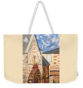 The Old French Mill Watercolor Art Prints Weekender Tote Bag