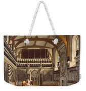 The Old Guard Chamber, The Round Tower Weekender Tote Bag