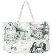 The Old Horse Farm Weekender Tote Bag