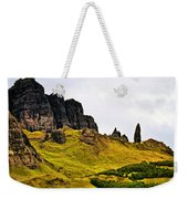 The Old Man Of Storr Weekender Tote Bag