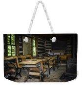 The Old Mikado Bailey School House Weekender Tote Bag