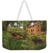 The Old Mill And Pond Weekender Tote Bag