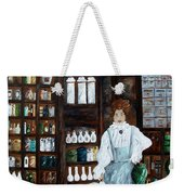The Old Pharmacy ... Medicine In The Making Weekender Tote Bag