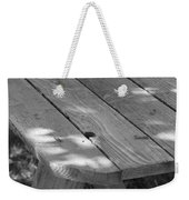 The Old Picnic Table Weekender Tote Bag