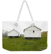 The Old Pierce Point Ranch At Foggy Point Reyes California 5d28140 Weekender Tote Bag
