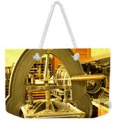 The Old Printing Press Weekender Tote Bag