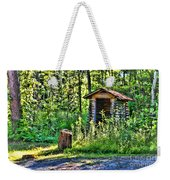 The Old Shed Weekender Tote Bag by Cathy  Beharriell