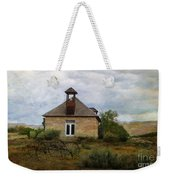 The Old Shell Schoolhouse Weekender Tote Bag