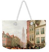 The Old Smithfield Market Weekender Tote Bag by Thomas Sidney Cooper