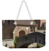 The Old Stone Bridge In Bruges Weekender Tote Bag