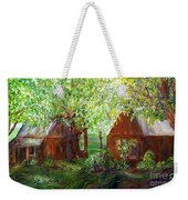 The Old Swing Between The House And The Barn Weekender Tote Bag