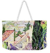 The Old Town Vaison Weekender Tote Bag