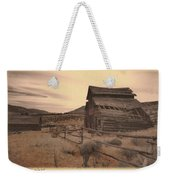 The Old West Weekender Tote Bag