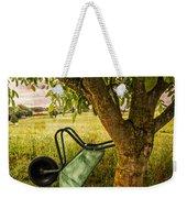 The Old Wheelbarrow Weekender Tote Bag