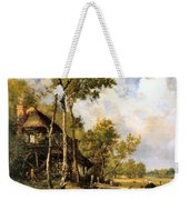 The Old Windmill Near Barbizon Weekender Tote Bag