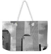 The Old Wtc Weekender Tote Bag by Joann Vitali